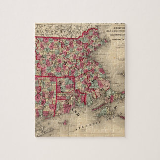 Massachusetts, Connecticut, and Rhode Island Puzzle