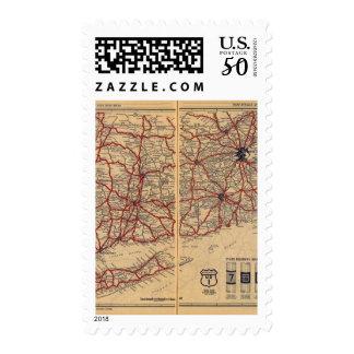 Massachusetts, Connecticut, Rhod Island Postage
