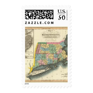 Massachusetts, Connecticut, Rhode Island Postage