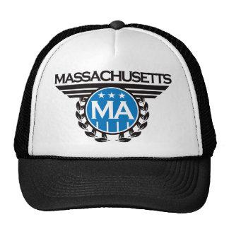 Massachusetts Crest Design Trucker Hat