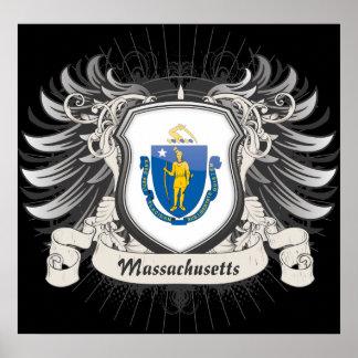 Massachusetts Crest Print
