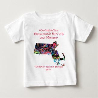 Massachusetts Customizable Colorful Election Shirt