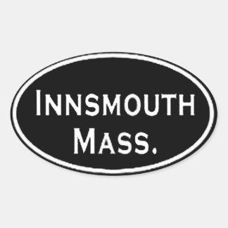 Massachusetts de Innsmouth Pegatina Ovalada