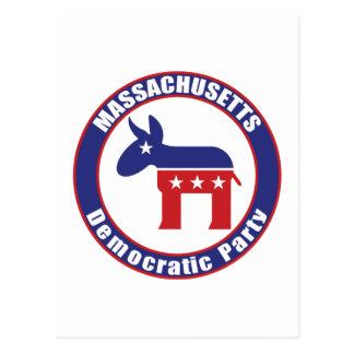 Massachusetts Democratic Party Postcard