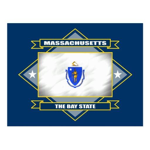 Massachusetts Diamond Postcard