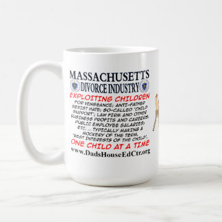 Massachusetts Divorce Industry. Mug