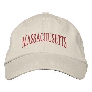 Massachusetts Embroidered Hat