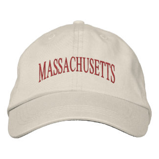 Massachusetts Embroidered Hat