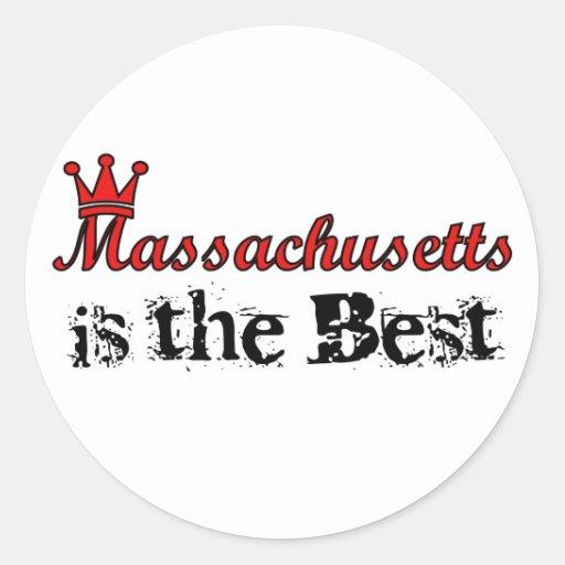 Massachusetts es los mejores pegatinas