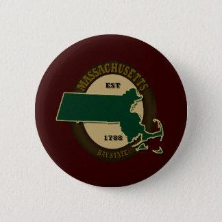 Massachusetts Est 1788 Button