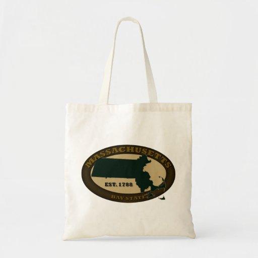 Massachusetts Est. 1788 Canvas Bag