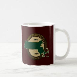 Massachusetts Est 1788 Coffee Mug