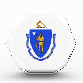 Massachusetts Flag Acrylic Award