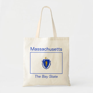 Massachusetts Flag Bag