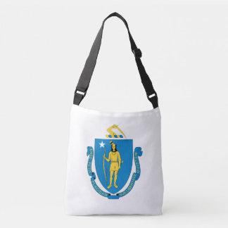 MASSACHUSETTS Flag Design - Crossbody Bag