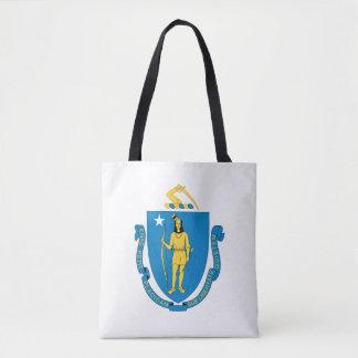 MASSACHUSETTS Flag Design - Tote Bag