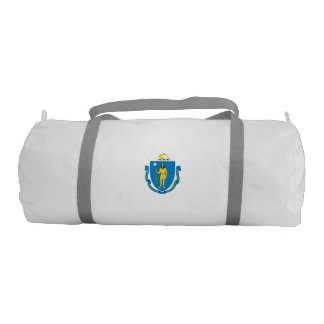 MASSACHUSETTS Flag Gym Duffel Bag