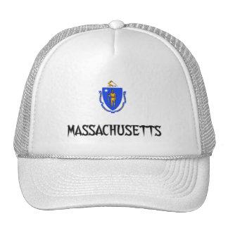 Massachusetts Flag Hat