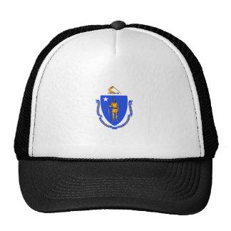 Massachusetts Flag Trucker Hat
