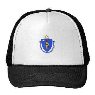 Massachusetts Flag Mesh Hats