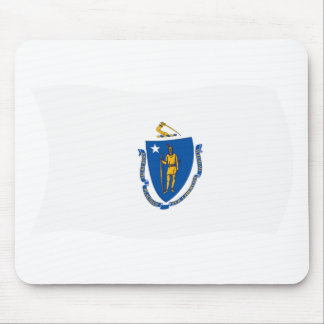 Massachusetts Flag Mousepad