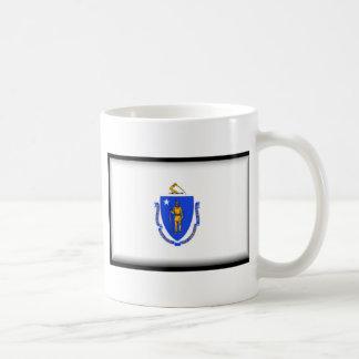Massachusetts Flag Coffee Mugs