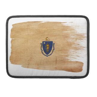 Massachusetts Flag Sleeve For MacBook Pro