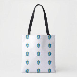 MASSACHUSETTS Flag - Tote Bag