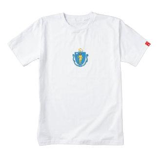MASSACHUSETTS Flag Zazzle HEART T-Shirt