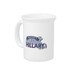 MASSACHUSETTS FOR HILLARY DRINK PITCHERS