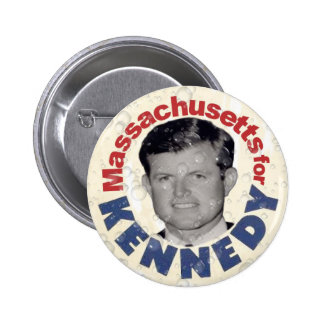 Massachusetts for Kennedy satire button