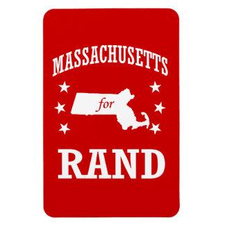 MASSACHUSETTS FOR RAND PAUL RECTANGULAR PHOTO MAGNET