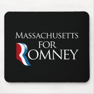 Massachusetts for Romney - png Mousepads