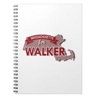Massachusetts for Walker Spiral Note Books