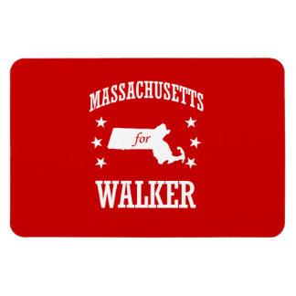MASSACHUSETTS FOR WALKER RECTANGULAR PHOTO MAGNET