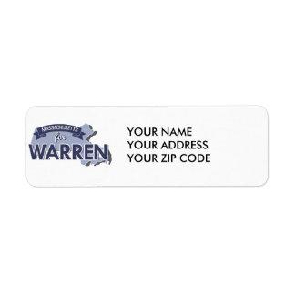 MASSACHUSETTS FOR WARREN -.png Return Address Label