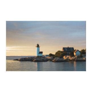 Massachusetts, Gloucester, Annisquam, Annisquam Impresión En Lienzo
