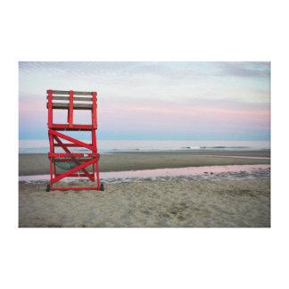 Massachusetts, Gloucester, buena playa del puerto Impresión En Lienzo