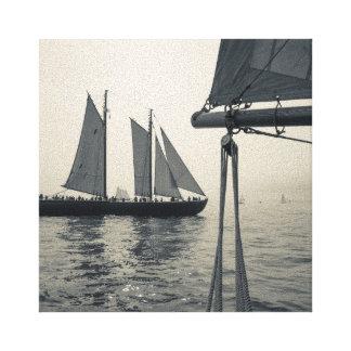 Massachusetts, Gloucester, festival 2 del Schooner Impresión En Lienzo