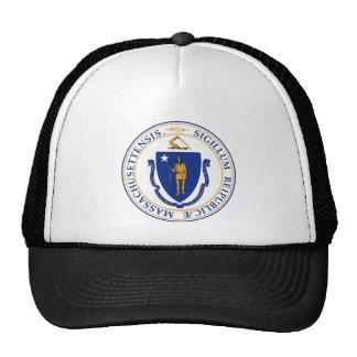 Massachusetts Great Seal Trucker Hat