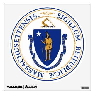 Massachusetts Great Seal Wall Sticker