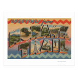 Massachusetts - Greetings from Mohawk Trail Postcard