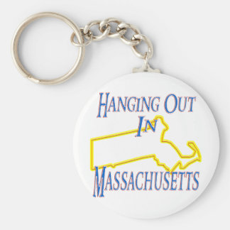 Massachusetts - Hanging Out Keychains
