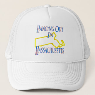 Massachusetts - Hanging Out Trucker Hat