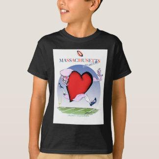 massachusetts head heart, tony fernandes T-Shirt