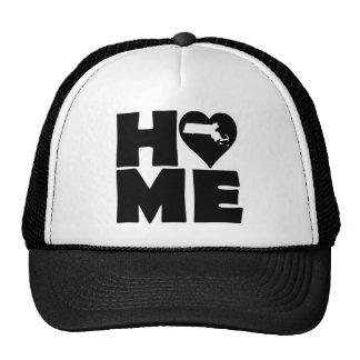 Massachusetts Home Heart State Ball Cap Hat