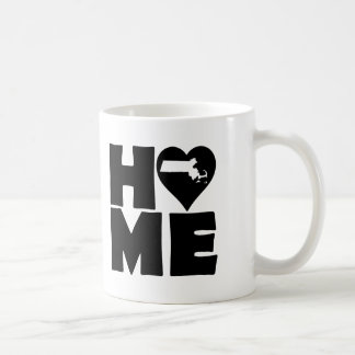 Massachusetts Home Heart State Mug or Travel Mug
