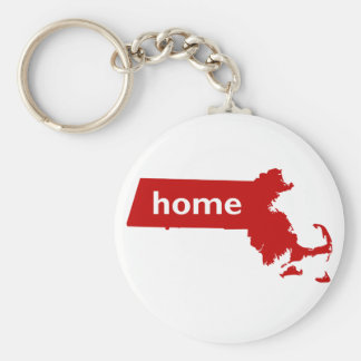Massachusetts Home Keychain