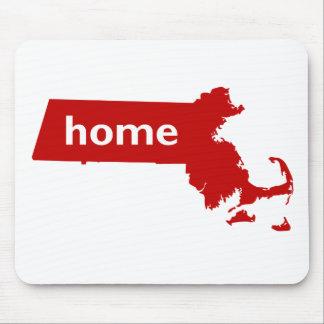 Massachusetts Home Mouse Pad