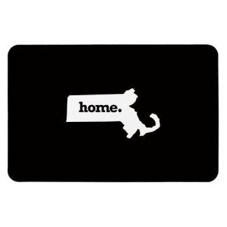Massachusetts Home Rectangular Photo Magnet